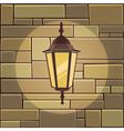 Lantern On The Wall vector image