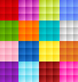 Patchwork square background vector image vector image