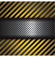 perforated metal vector image