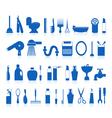 restroom bathroom icons vector image vector image