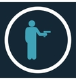 Robbery icon vector image