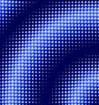 Scattered blue balls background vector image vector image