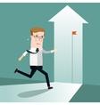 Start Up Business concept cartoon vector image