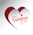 Valentines Day background 1501 vector image vector image