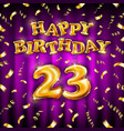 23 happy birthday message made golden