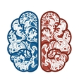 brain storming isolated icon vector image