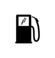 Car charging Icon Flat vector image