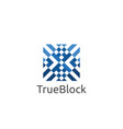 carpet floor tile wall logo icon symbol block vector image