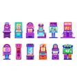 cartoon casino slot and kids arcade game machines