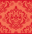 damask retro scratched seamless pattern vector image vector image
