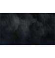 Dark smoke vector image vector image