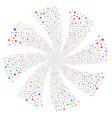 decoration stars fireworks swirl rotation vector image vector image