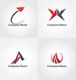 A symbol logo vector image vector image