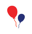 balloon icon design template isolated vector image vector image