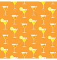 Cocktail Seamless Pattern Background vector image
