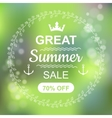 Great Summer Sale Banner vector image