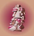 modern art fantasy geometric shapes trendy design vector image vector image