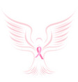national breast cancer awareness month pink vector image vector image