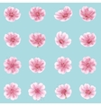 Sakura flowers icon set isolated EPS 10 vector image vector image