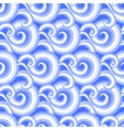 Seamless pattern with curls and swirls