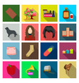 textiles entertainment travel and other web icon vector image vector image