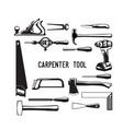 tool carpenter vector image