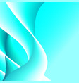 abstract blue background futuristic wavy vector image vector image