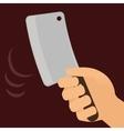 Butchery or butcher theme vector image