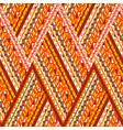 doodle elements zig zag pattern vector image