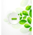 green nature background vector image