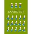Jogging Guy vector image