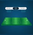lacrosse football soccer scoreboard chart vector image vector image