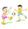 playfootball vector image vector image