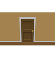 Room door vector image vector image