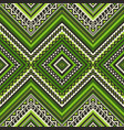 seamless ethnic pattern with geometric ornament vector image vector image