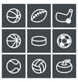 Sports Icon collection vector image vector image