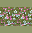 Wide vintage seamless background pattern blue