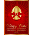 Easter eggs illustration vector image vector image