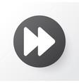 fast forward icon symbol premium quality isolated vector image