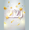 happy new year card over gray background with vector image