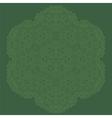 Mandala Isolated Round Ornament vector image