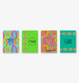 neon gradients trendy backgrounds with impossible vector image vector image