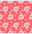 seamless pattern with curls and swirls vector image vector image