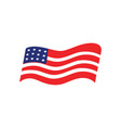 usa flag icon design template isolated vector image vector image