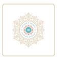 wedding save date invitation card design vector image vector image