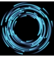 Blurred magic neon light EPS 10 vector image vector image