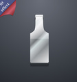 bottle icon symbol 3D style Trendy modern design vector image