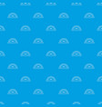 bread oven pattern seamless blue vector image