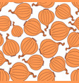 hand drawn onion seamless pattern vector image vector image