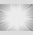 radial lines concept speed movement vector image vector image